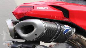 Termignoni - Termignoni CF Slip-On Exhaust: Ducati 848/1098/1198/1098R - Image 1