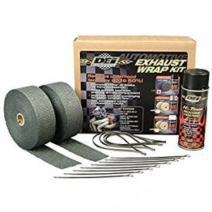 DEI  - DEI Motorcycle Black Exhaust Wrap Kit - Image 1
