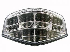 Competition Werkes - Competition Werkes Integrated Tail Light/Turn Signal: M696/M796/M1100 : Clear/Chrome - Image 1