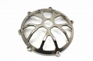 Speedymoto Limited - SPEEDYMOTO LIMITED NICKEL Ducati Dry Clutch Cover: 10 Spoke