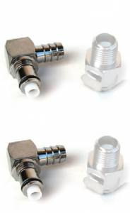 Motowheels - Quick Release Metal Fuel Connector Complete Kit [Two Males, Two Females]  Ducati / MV Agusta - Image 1