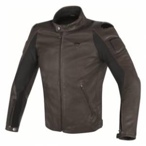 DAINESE Closeout  - DAINESE Street Darker Leather Jacket [Closeout, No Returns or Exchanges] - Image 1