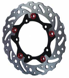 Braketech - BrakeTech  Axis Stainless Steel Series 245mm Rear Rotor: Monster 1100[Non-ABS], 1098/1198, SF 1098 - Image 1