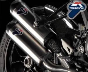 Termignoni - Termignoni Titanium Slip-On Exhaust: Ducati Monster 1100 EVO - Image 1