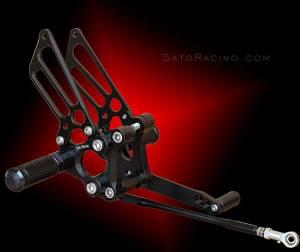 Sato Racing - Sato Racing Adjustable Billet Rearsets: Ducati 749/999 - Image 1