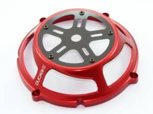 Ducabike - Ducabike Ducati Dry Full Clutch Cover: Billet Aluminum / Carbon Fiber - Image 1