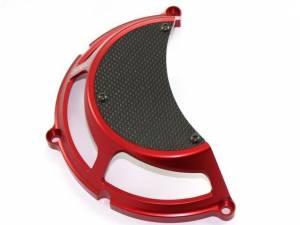 Ducabike - Ducabike Ducati Dry Half Clutch Cover: Billet Aluminum / Carbon Fiber - Image 1