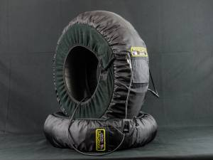 Woodcraft - Woodcraft MADE IN USA Dual Temp Gen III Tire Warmers with soft carry case - Image 1