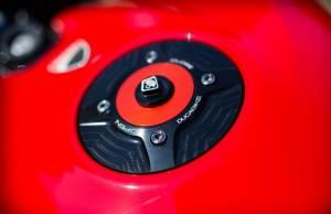 Ducabike - Ducabike Fuel Cap: Ducati Panigale 899-959-1199-1299-V4-V2, Scrambler, Streetfighter 848-1098, X Diavel - Image 1