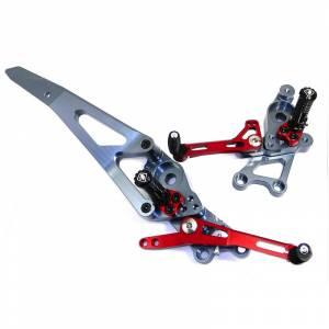 Ducabike - Ducabike Adjustable Billet Rear Sets: Ducati Hypermotard 821/939 - Image 1