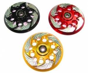 Ducabike - Ducabike Billet Clutch Pressure Plate: Dry Clutch Ducati [No Slipper] Spinning Style - Image 1