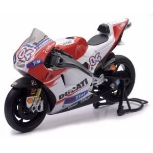NewRay - New Ray Toys 1:12 Scale Race Bikes: Ducati Desmosedici 2015 Dovizioso - Image 1