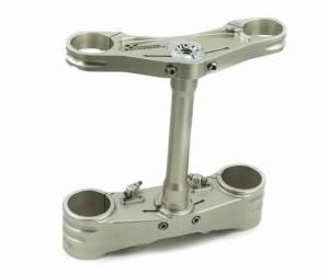 Forsaken Motorsports - Forsaken Motorsports Adjustable Billet Triple Clamp set: Panigale 1199/1299 [Ohlins Forks]