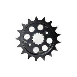 Driven - Driven Chromoly Steel Drilled Counter shaft Front Sprocket: BMW S1000RR - Image 1