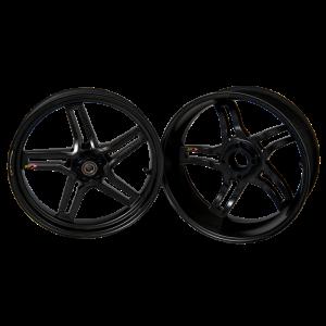 BST Wheels - BST RAPID TEK 5 SPLIT SPOKE WHEEL SET [6 inch rear]: Ducati 1199/1299 Panigale/ Panigale V4