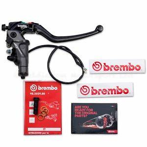 Brembo - BREMBO 19RCS CORSA CORTA RADIAL MASTER CYLINDER: THREE DIFFERENT BRAKE MODULATION OPTIONS