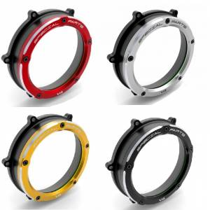 Ducabike - Ducabike Clear Wet Clutch Cover: Ducati Panigale V4/S - Image 1