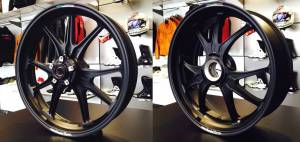 """Marchesini - Ultra Rare Marchesini M9RS Superleggera Forged Magnesium Wheels: Panigale 1199/1299 """"In stock and ready to ship"""", One set Only!"""