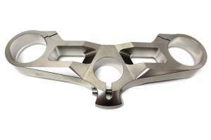 Ducabike - Speedymoto Limited Edition Nickel Plated Billet Top Triple Clamp: Panigale 1299 S / 1199 S / 899 / 959
