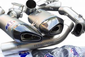 Termignoni - Termignoni Force Design Complete Racing Exhaust System: Ducati Panigale 1199/ 1299 [Including The Licence Plate Holder]