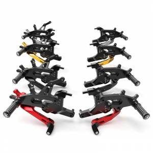 Ducabike - Ducabike Rear Sets: Ducati Panigale V4 [Folding foot pegs]