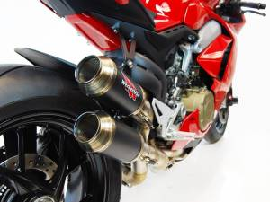 Competition Werkes - Competition Werkes Slip-on Exhaust: Panigale V4