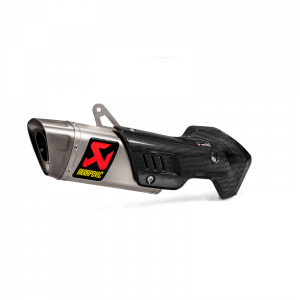 Akrapovic - Akrapovic Titanium Slip-On Exhaust: Ducati Multistrada 1200 [15-17],1260/1260S