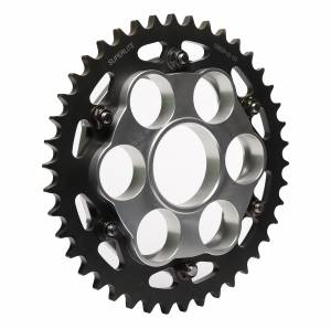 SUPERLITE - SUPERLITE 530 Pitch Direct Replacement Steel Rear Sprocket: Multistrada 1200 [Replaceable outer sprocket] - Image 1