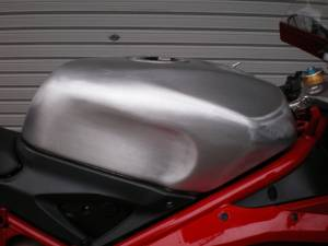 Beater Aluminum Fuel Tanks - DUCATI 848/1098/1198 20L Hand Crafted Aluminum Fuel Tank - Image 1