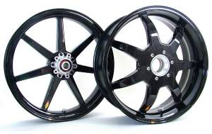 BST Wheels - BST 7 Spoke Wheels: Ducati 1098/1198 /SF 1098/ MTS 1200/ SS 939 - Image 1