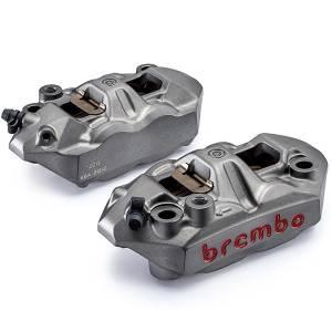 Brembo - BREMBO Cast Monobloc M4 Caliper Set: 108mm Radial Mount Only - Image 1