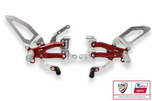 CNC Racing - CNC Racing Special Edition Billet Rearsets: Ducati Panigale V4 / S / Speciale[Folding Pags /Toe Piece]