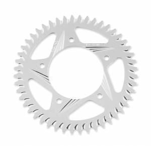 Vortex - VORTEX Clear Anodized ALU 520 Pitch Rear Sprocket: Ducati Monster/SS/ST/SC  - Image 1