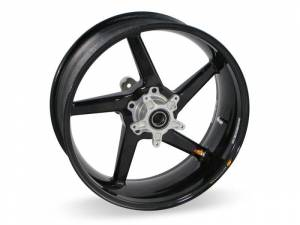 "BST Wheels - BST Diamond TEK Carbon Fiber 5 Spoke Rear Wheel [5.5"" Rear]: Ducati Monster 695ie-696-900ie, Sport Classic-GT1000, ST2/3/4/4S - Image 1"