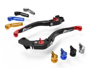 Ducabike - Ducabike Ergonomically Designed Billet Adjustable Brake & Clutch Eco GP Folding Levers: Supersport 939, Hypermotard 939 SP, Scrambler Cafe Racer - Image 1