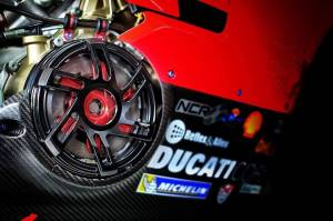 Desmoworld - Desmoworld ExclusiveBillet ClearClutch Cover & Pressure Plate Ring Combo: Ducati Panigale V4 [Style #1]
