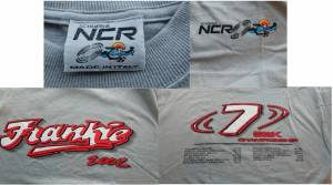 NCR - NCR Scuderia Super High Quality 'Frankie' 2002 SBK Collectible T-Shirt: Made In Italy! Large Only - Image 1