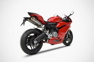 Zard - ZARD Stainless Steel Headers/Titanium Canisters, 2-1-2 Underseat Full Exhaust System: Ducati Panigale 959