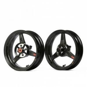 "BST Wheels - BST 3 Spoke Wheel Set: 4.0"" X 12"" / / 2.75"" X 12"": Honda Grom 125 - Image 1"