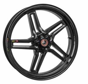 BST Wheels - BST Rapid Tek Carbon Fiber Front Wheel:: DUCATI 749/999/1098 /S4RS/HYM/HYS and many more models - Image 1