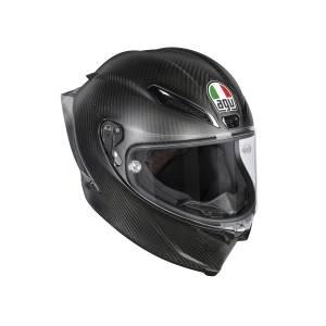AGV Closeout - AGV Pista GP-R Full Carbon Helmet: Matte Carbon - Image 1