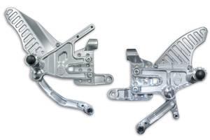 STM - STM BILLET ADJUSTABLE REARSETS: Ducati Panigale V4/V4S - Image 1