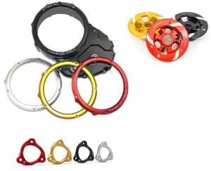 Ducabike - Ducabike Complete Clear Clutch Case Cover/Pressure Plate/Ring: Ducati Hypermotard 939 / 939 SP