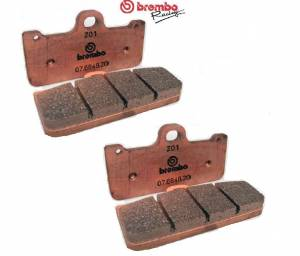 Brembo - Brembo Racing Z01 Compound Brake Pads For CNC Monoblock Brembo Calipers:[4 Pieces for two calipers] - Image 1