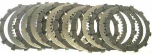 """EVR - EVR Wet Clutch Plate Kit: Ducati Monster """"620ie [Single disc] /750/800/S2R 800/M800""""- SS750 - Image 1"""