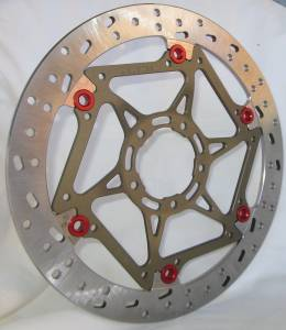 Braketech - BrakeTech AXIS Superbike Race Rotors Hi-Spec Stainless Steel 320mm x 6.5mm: Ducati Panigale 899-959-1199-1299-V4-V2, 848-1098-1198 - Image 1
