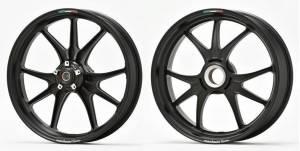 Marchesini - Marchesini M9RS Superleggera Forged Magnesium Wheels: Panigale 1199-1299-V4 [Gloss Black] - Image 1