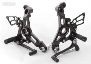 Sato Racing - Sato Racing Adjustable Billet Rearsets: Ducati Supersport 17+ - Image 1