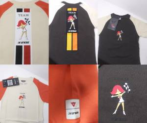 DAINESE Closeout  - DAINESE Team Lady T-Shirt [Very Rare] Only few left!