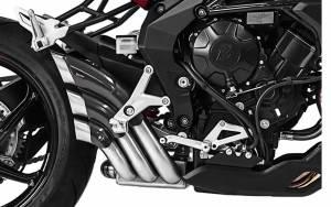 HP Corse - HP CORSE HYDROTRE SATIN SLIP-ON EXHAUST WITH CF COVER: MV AGUSTA Rivale 800 - Image 1